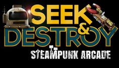Seek & Destroy - Steampunk Arcade - Available in 2 Days! https://www.youtube.com/watch?v=E9tHKsIiOLk&utm_content=buffer4ea9d&utm_medium=social&utm_source=pinterest.com&utm_campaign=buffer #Steam #HTCvive #Oculus #Viveport #VR #Steampunk