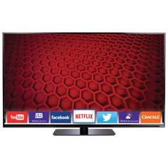 Vizio Smart TV (for the kids' rooms). Smart Tv, Cool Things To Buy, Led, Electronics, Kids Rooms, Black, Gadgets, Appliances, Gift Ideas