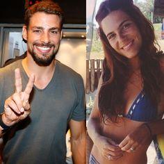 Cauã Reymond e Mariana Goldfarb estão namorando, sim!