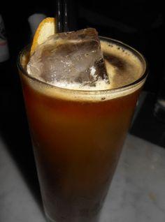 Fratelli Sling  2 oz Rittenhouse 100 Rye  3/4 oz Fernet Branca  1/2 oz Honey Syrup (1:1)  1/2 oz Lemon Juice