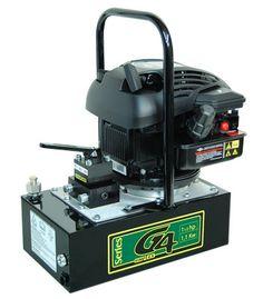 BOMBA DE GASOLINA SIMPLEX, SERIE G4 MOTOR: 4CV PRIMERA FASE DE FLUJO: 700 cu. in. / min. SEGUNDA FASE DE FLUJO: 50 cu. in. / min. PRESION MAXIMA: 10,000 PSI Impulsado por un motor de gasolina a 4hp Briggs & Stratton. Equipado con agarradera de carga en todos los modelos. Ideal para usar con cilindros de tamaño medio hidráulico o herramientas. Diseño compacto y autónomo, a partir de las 53 libras. pii8597@piisacv.com Hydraulic System, Diy Tools, Espresso Machine, Diy And Crafts, Kitchen Appliances, Pot Holders, Bombshells, Mexico City, Motors