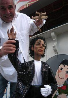 Michael Jackson Puppet