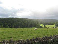 Inspiration for surrounding farmland. (Original image by tpb Rhosme, from farmland near Cirencester.)