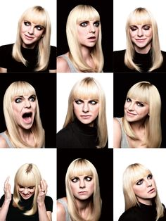 Anna Faris for New York Magazine's Fall Preview issue. Hair by Christine Symonds. Makeup by Lottie. Styling by Ashley Avignone.