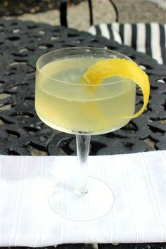 Vodka Bumble cocktail