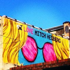 Mitch Hedberg Mural