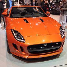 Stunning Orange Jaguar F-type!