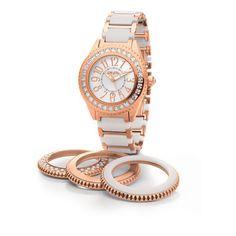 Discover ceramic watches online by Folli Follie! Ceramic watches for all styles! Sport Watches, Cool Watches, Women's Watches, Watches Online, Gold Watch, Bracelet Watch, Seasons, Ceramics, Style Inspiration