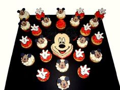 Mickey Mouse birthday awesome-cupcakes