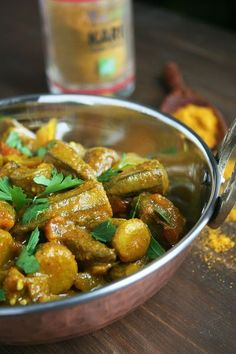 Curry de gombos (végétarien)