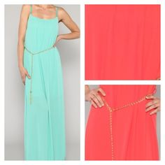 Coral Maxi Dress from #freshboutique