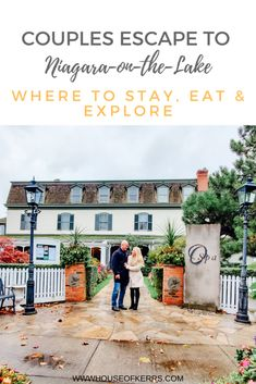 Couples' Escape to Niagara-on-the-Lake: Where to STAY, EAT & EXPLORE - Oban Inn Restaurant & Spa | Food of Niagara Region |  #weekendgetaway #travel #wellnessretreats #winecountry #niagara #ontariotravel