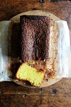Yotam Ottolenghi's lemon-semolina cake