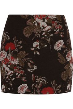 Ganni revealed this mini skirt at its Fall '16 show in Copenhagen – it immediately caught our attention styled with the coordinating blazer. Cut in a thigh-grazing length, this patterned piece is made from cotton-blend brocade that's been specifically woven for the brand. We love how the claret rose blooms tap the season's penchant for dark florals.