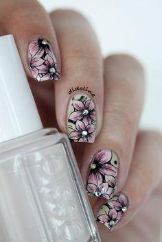 Essie, Urban Jungle - Stamping et Aquarelle ! - Didoline's Nails