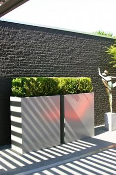 Minimalist Garden and landscape Design Ideas Terrace Garden, Garden Spaces, Minimalist Garden, Contemporary Garden, Garden Landscape Design, Outdoor Living, Outdoor Decor, Pergola Shade, Dream Garden
