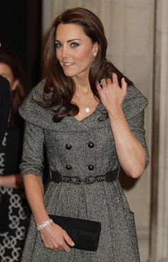 Kate Middleton makes a solo appearance at the National Portrait Gallery in London!