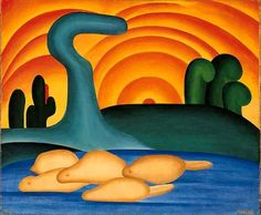 obra-tarsila-do-amaral - Tarsila do Amaral