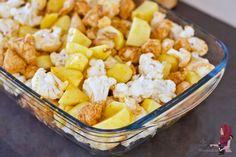 Bloemkool ovenschotel met kip - WayMadi Oven Baked, Soul Food, Potato Salad, Recipies, Spaghetti, Cooking Recipes, Baking, Dinner, Vegetables