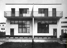 Adolf Loos Doppelhaus at the Werkbundsiedlung, Vienna 1931