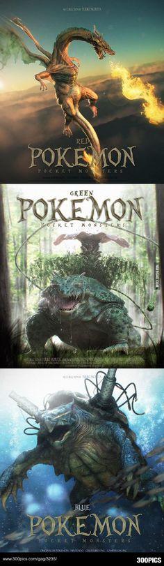 Terrifyingly awesome realistic Pokemon! - 300Pics