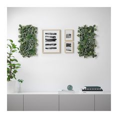 FEJKA Artificial plant IKEA Liven up your living space with greenery by decorating your walls with the artificial plant panel.