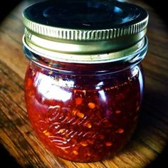 The post Donna Hay's Asian Chilli Jam appeared first on Em's Food For Friends. I must say, when it comes to Basic's (and brilliance), Donna Hay is often my go to and this Chilli Jam was no exception Chilli Recipes, Canning Recipes, Sauce Recipes, Asian Recipes, Jelly Recipes, Chilli Jam, Sweet Chilli, Healthy Eating Tips, Healthy Recipes