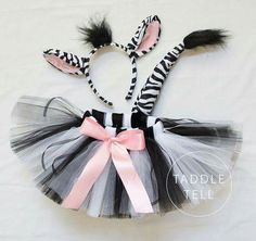 Pre Sale ZEBRA Halloween Costume Tutu Includes by taddletellshop Zebra Halloween Costume, Cute Halloween, Halloween Costumes For Kids, Halloween Makeup, Baby Costumes, Dance Costumes, Animal Costumes For Kids, Tulle Costumes, Zebra Makeup