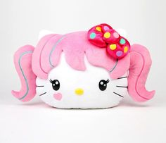 1784f56a69 Hello Kitty Face Cushion  Japanimation Hello Kitty Plush