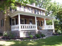 Porch railing idea.