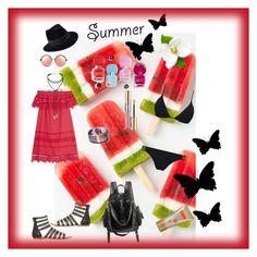 """Summer"" by giusky on Polyvore featuring moda, Sea, New York, Penmayne of London, Matthew Williamson, Miss Selfridge, Melissa Odabash e Yves Saint Laurent"