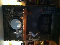 Christmas mantle !