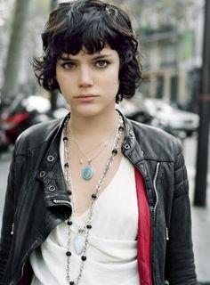 Indie French singer/songwriter and actress Stephanie Sokolinski Aka Soko