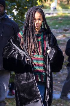 Rihanna on set filming Oceans 8                                                                                                                                                                                 More