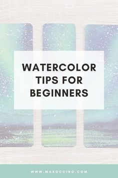 Are you a beginner at watercoloring? Check out this youtube video to learn my top 8 essential watercolor skills every beginner must know! Hey, I'm Mako from the YouTube channel 'makoccino'! Here you will find my tips and tutorials on how to do watercolor paintings! Find me on Instagram @makoccinos #watercolor #watercolorartist #howtowatercolor