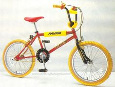 Raleigh Burner. If you put a coke can on the back wheel it sounded like a motorbike!