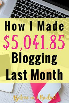 Learn how this blogger makes a full time income while working part time on her blog. She's sharing how she earns all of her income and breaks down each category. If you want to make more money, learn how blogging is a great side hustle!