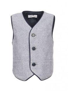 Παιδικό γιλέκο :: Παιδικά Ρούχα - Maison Marasil Vest, Spirit, Sweaters, Christmas, Jackets, Dresses, Fashion, Xmas, Down Jackets