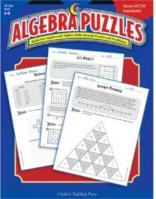 Need this to prep for next weeks tests! Algebra Puzzles - Build pre-algebra and skills through puzzles and problems. Math Teacher, Math Classroom, Teaching Math, Classroom Ideas, Teacher Stuff, Problem Solving Activities, Math Activities, Creative Teaching Press, Secondary Math