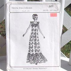 Dress Muumuu Pattern by Victoria Jones Uncut Multisize Petite to XXX Large. $14.00, via Etsy.