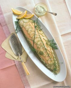 Martha Stewart's Perfect Poached Salmon
