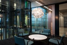 Contemporary office interiors by Magnus + Associates, meeting room, conference room