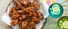 Sticky Chicken Nibbles recipe from Food in a Minute