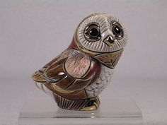 DeRosa-Rinconada-Family-Collection-Baby-Barn-Owl-II-Figurine-F310-NIB