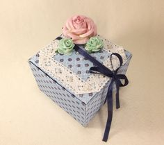 Подарочная коробка - Подарки своими руками