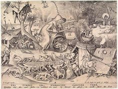 Pray were swelling with anger, veins grow black with blood - Pieter Bruegel the Elder
