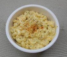 Easy, tasty - maybe not healthy! - Mac n Cheese recipe.  #macncheese #recipes #pasta #cheese
