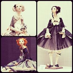 kablc: Awesome dolls by Alisa Philippova. Valley Of The Dolls, Moscow, Art Dolls, Awesome, Amazing, Cool Stuff, Disney Princess, Disney Characters, Mini
