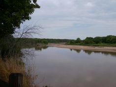 Kansas River near Fort Riley, KS