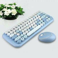 Ipad Accessories, Computer Accessories, Computer Set, Computer Keyboard, Keyboard Stickers, Keyboard Keys, Mode Cool, Game Room Design, Bluetooth Keyboard